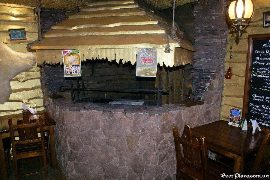 Паб Дороти. Киев. Фото. Третий зал. Мангал. Общий вид