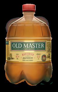 OLD MASTER Дымное - новинка от Московской Пивоваренной Компании