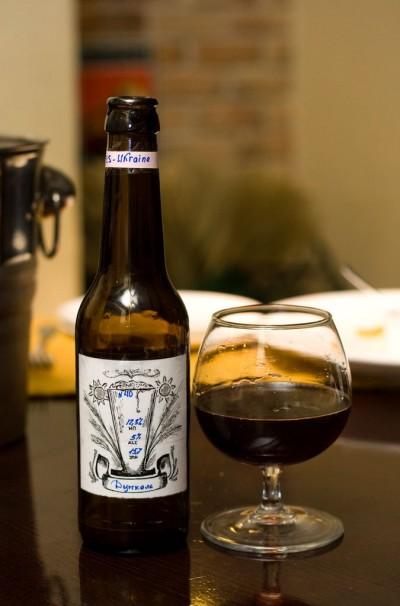 Дегустация домашнего пива Dunkel (пшеничный эль) от Ets-Ukraine