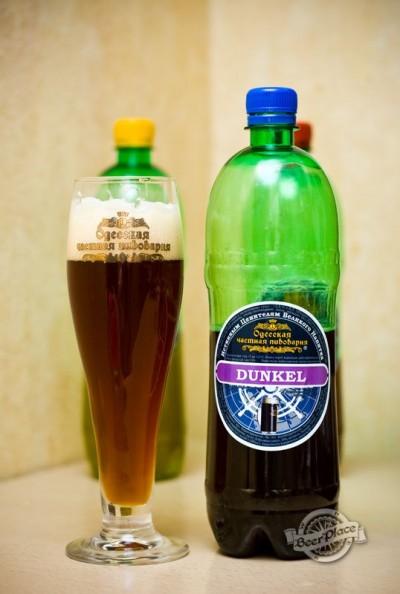 Дегустация пива Dunkel (Одесская частная пивоварня)
