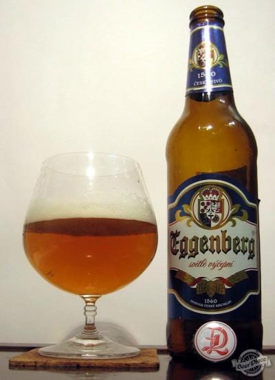 Eggenberg svetle vycepni: чешское пиво бывает разным и... грязным