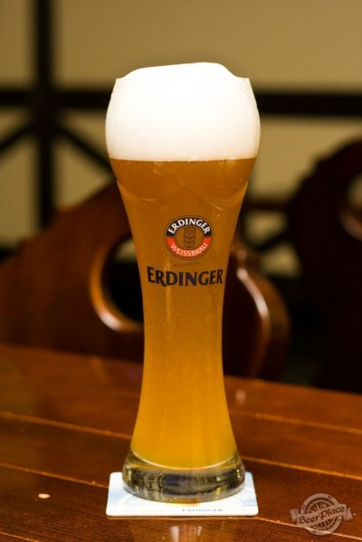 Дегустация пива Erdinger Weissbier