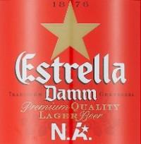 Дегустация Estrella Damm N.A.