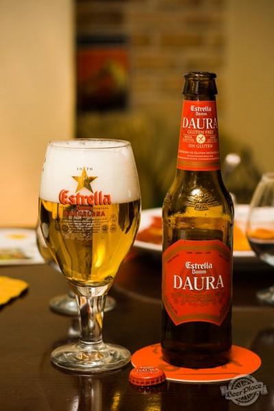 Дегустации пива Estrella Damm Daura
