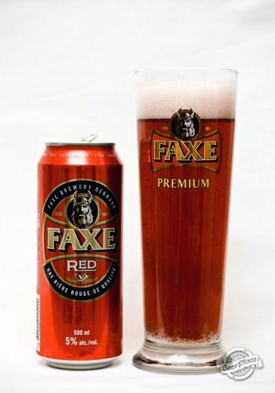 Дегустация пива FAXE Red