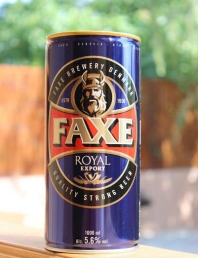 Faxe Royal Export - еще одна новинка от Сильпо