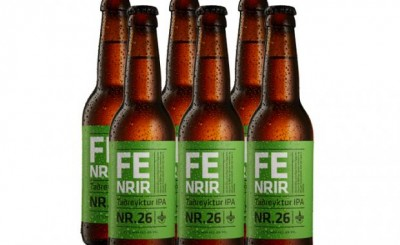 Fenrir Taðreyktur IPA Nr. 26 - копченое пиво на навозе