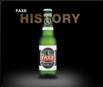 FAXE Stout - еще один сорт собственного импорта от Сильпо