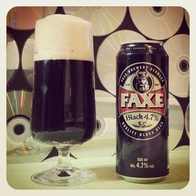 Faxe Black - новый сорт от Royal Unibrew в Украине