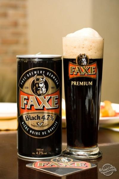 Дегустация пива Faxe Black