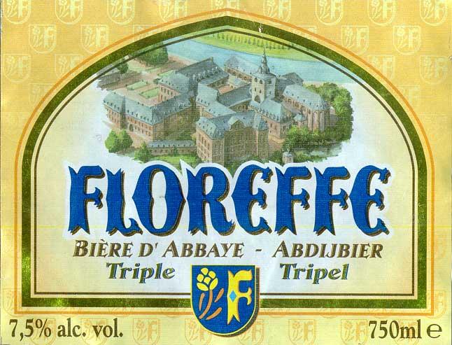 Этикетка Floreffe Triple
