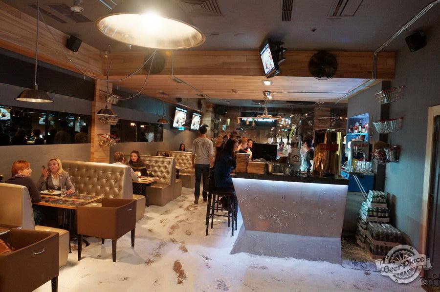 Открытие гастрономического бара FoodTourist | FOODTOURЇST | ФудТурист. Снег он везде