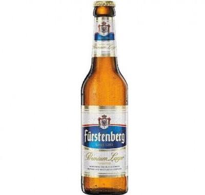 Акция на немецкое пиво Furstenberg в Мега Маркете на Горького