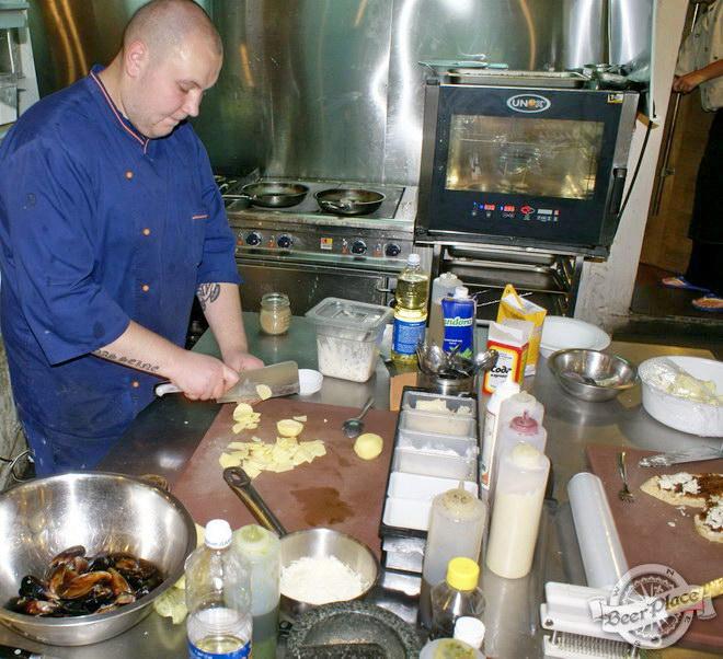 Гастрономический бар Барсук. Фото. Так работает кухня в Барсуке