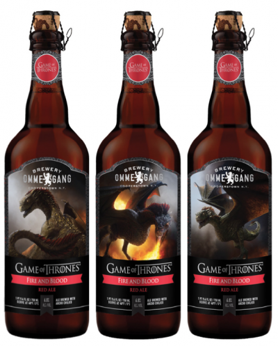 Fire and Blood Red Ale - еще одно пиво сериала Игры престолов