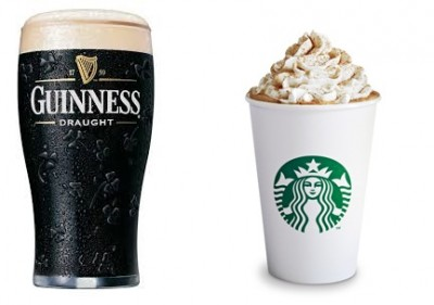 Dark Barrel Latte = Guinness + Starbucks