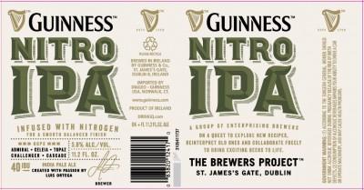 Guinness Nitro IPA скоро появится в продаже!
