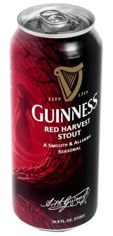Red Harvest Stout - сезонное пиво от Guinness