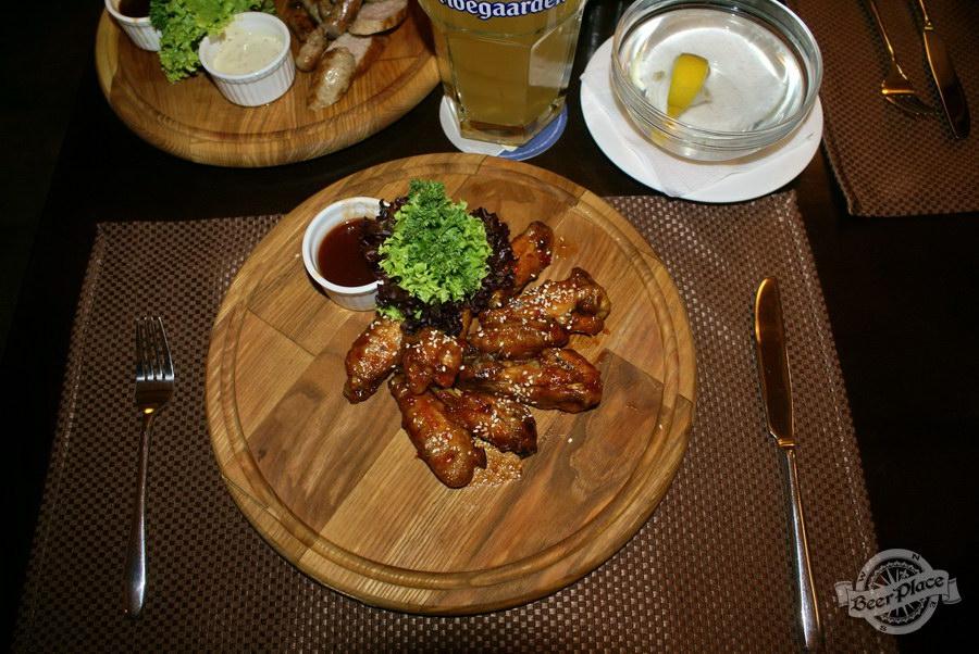 Обзор паба Guita Bar | Гитар Бар. Куриные крылья
