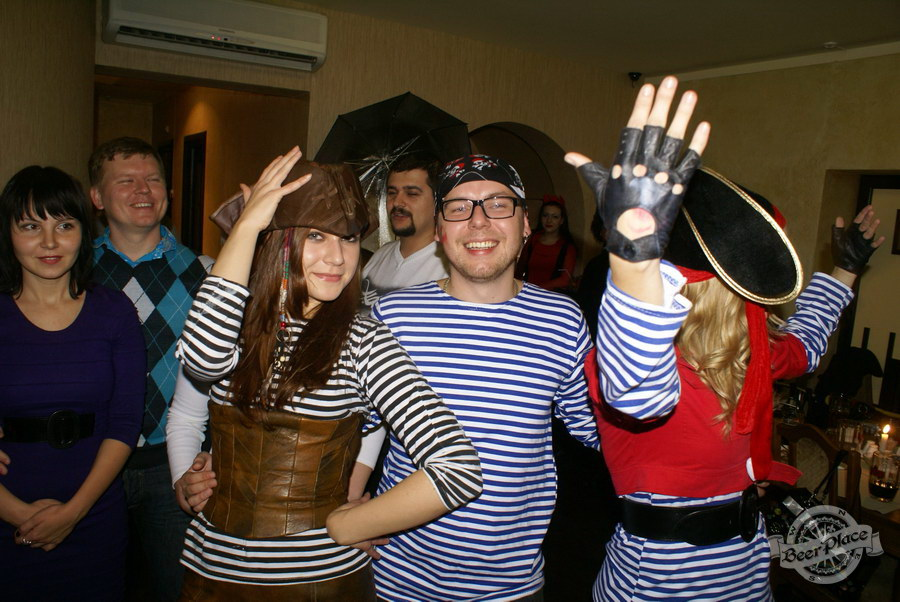 Halloween | Хэллоуин 2011. Паб Рыжая Корова. Йо-хо-хо