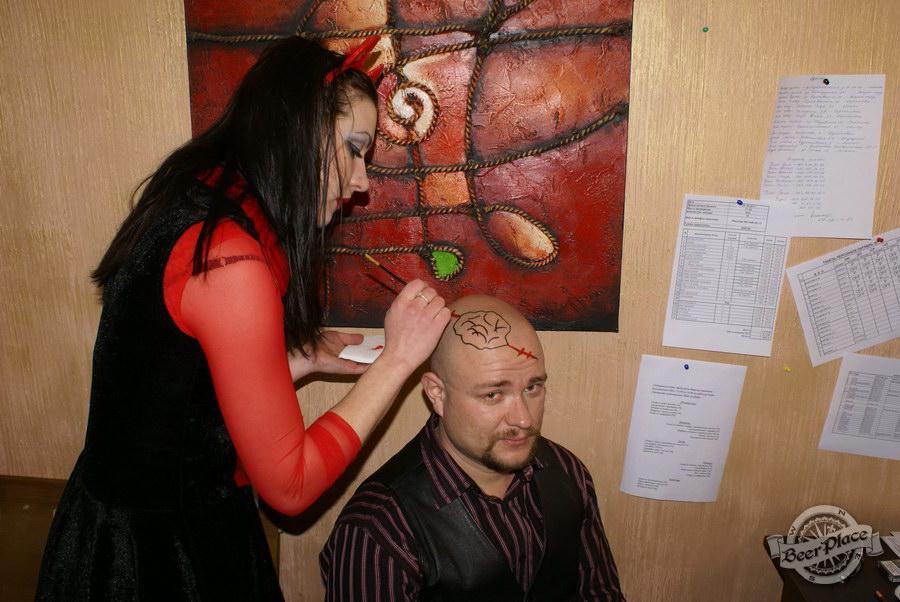 Halloween | Хэллоуин 2011. Паб Рыжая Корова. Нарисую фсе!