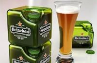 Heineken будет выпускать пиво в квадратных бутылках