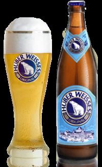 Huber Weisses Original - новое пшеничное пиво в Вагоне