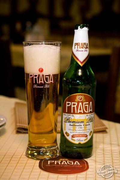 Дегустация пива Praga Premium Pils