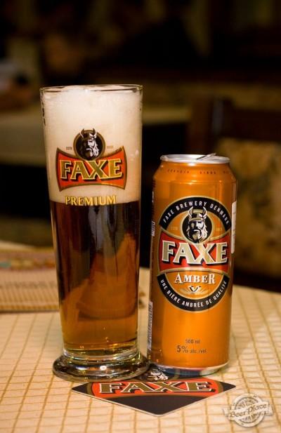 Дегустация пива Faxe Amber