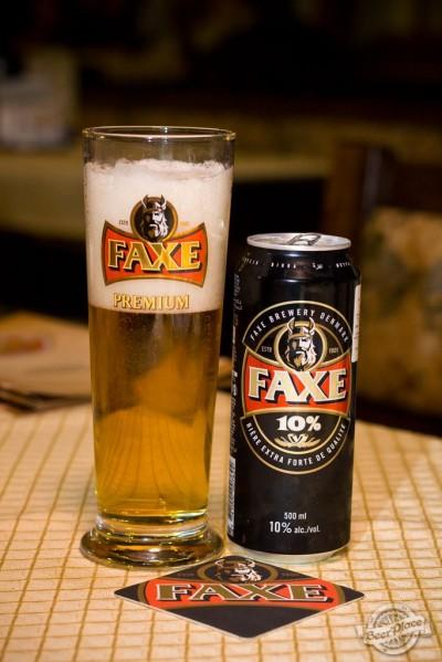 Дегустация пива Faxe 10%