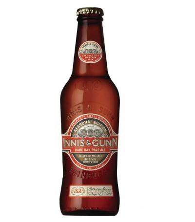 Innis & Gunn Rare Oak Pale Ale - шотландский эль с бузиной