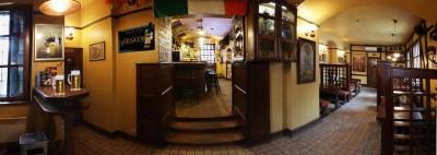Панорама интерьера Irish Pub в Харькове