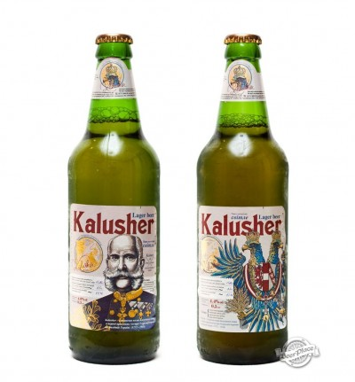 Новый дизайн Kalusher от калушского пивзавода