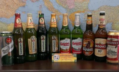 Чешский завоз пива в Пивной карте