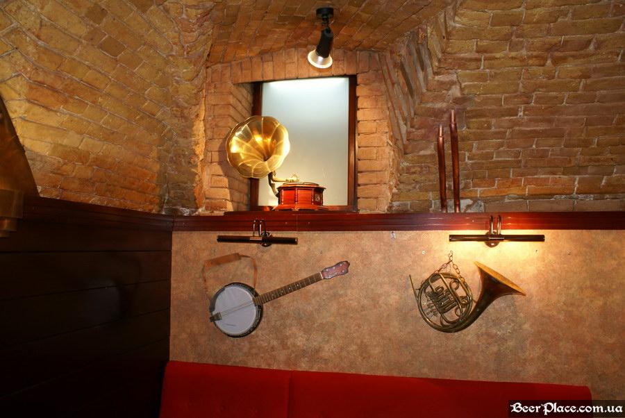 Паб-ресторан Картина Маслом. Киев. Обзор. Фото. Третий зал