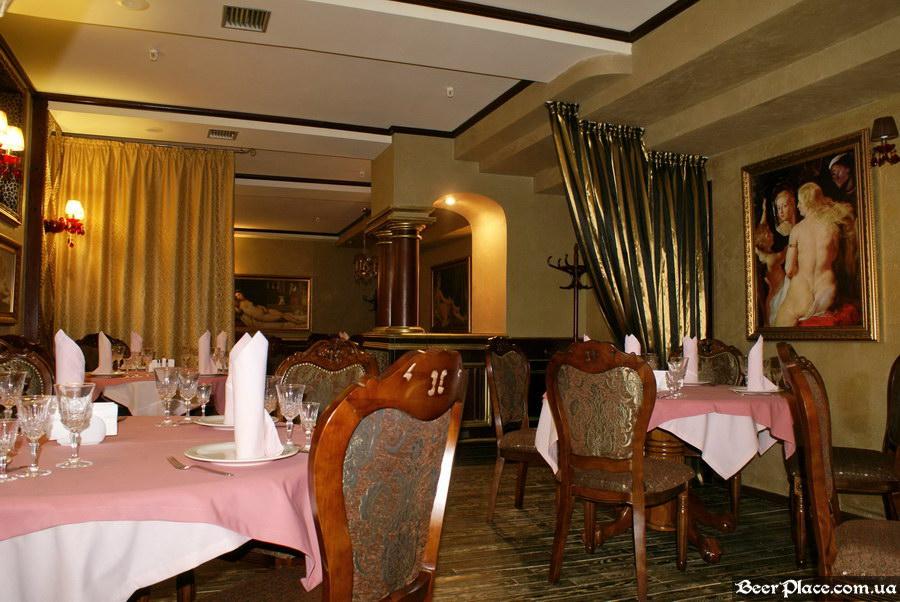 Паб-ресторан Картина Маслом. Киев. Обзор. Фото. Первый зал