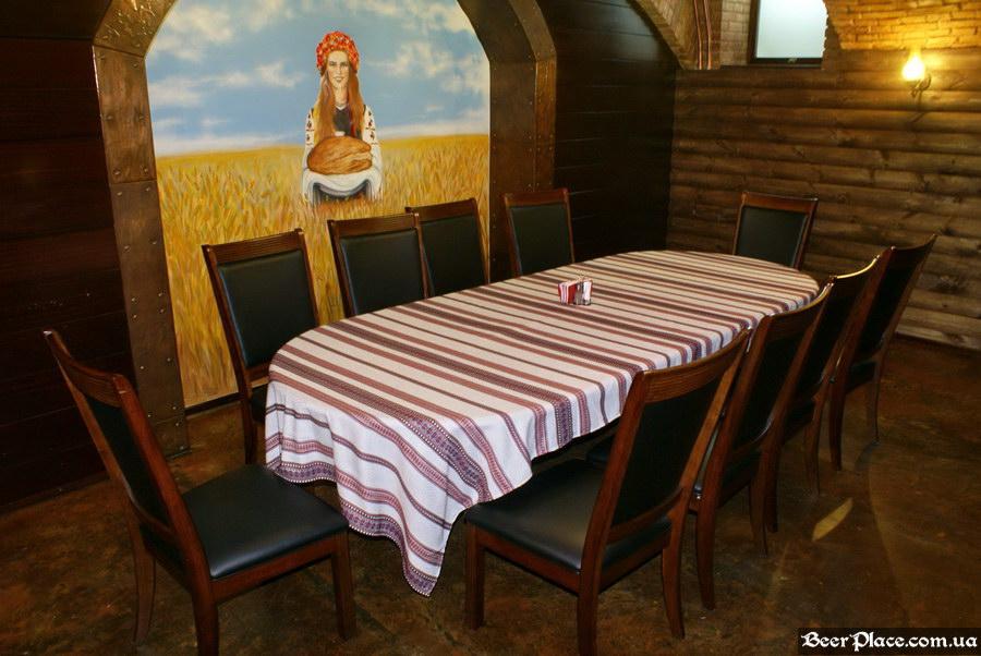 Паб-ресторан Картина Маслом. Киев. Обзор. Фото. Пятый зал