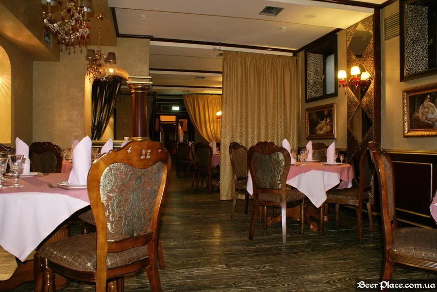 Паб-ресторан Картина Маслом. Киев. Обзор. Фото. Вход в первый зал