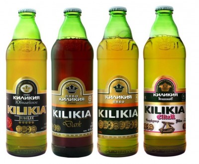 Армянское пиво Kilikia в Мега Маркетах