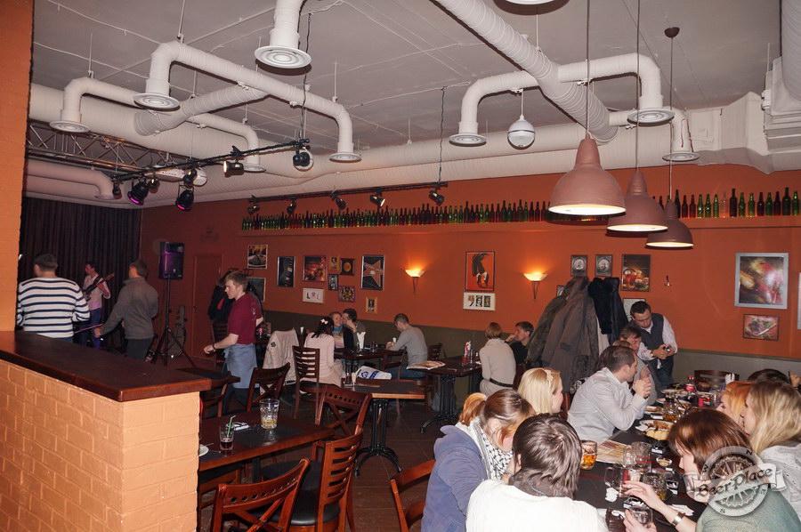 Обзор паба-ресторана Короли Колбас и Пива. Третий зал
