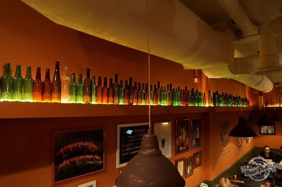 Обзор паба-ресторана Короли Колбас и Пива. Красота в третьем зале