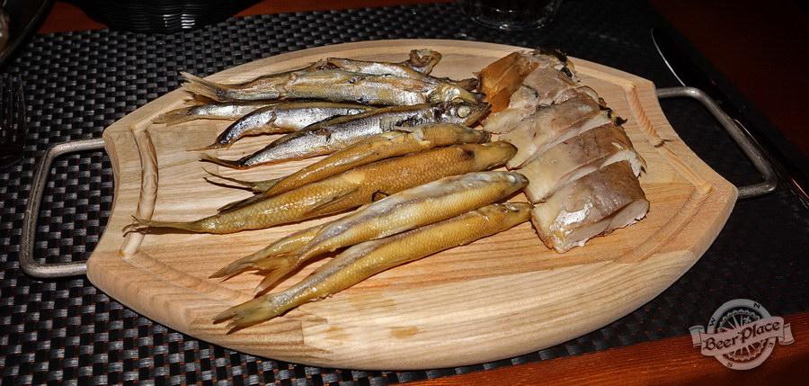 Обзор паба-ресторана Короли Колбас и Пива. Рыбное плато