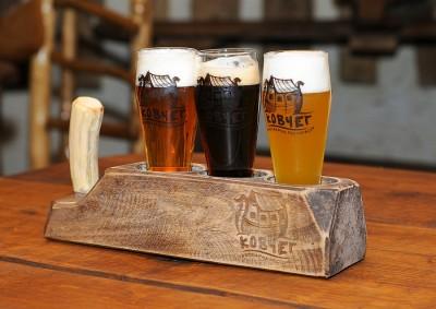 Пиво из ресторана Ковчег. Тернополь