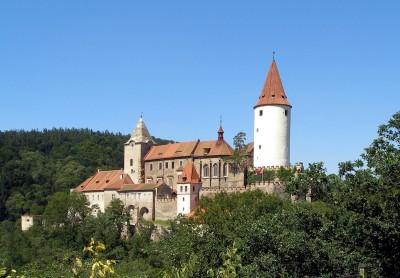 Замок Кривоклат. Чехия