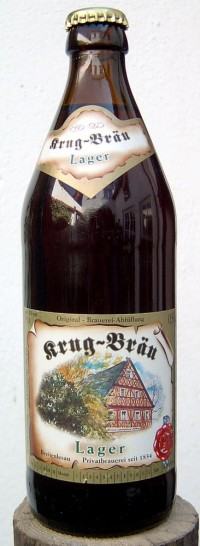 Krug-Bräu Lager - немецкая новинка в Сильпо