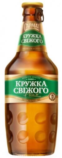 Кружка свіжого - новое пиво от Efes Ukraine