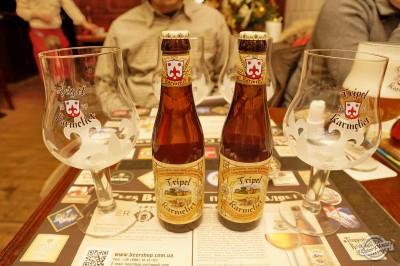 Бельгийское пиво Tripel Karmeliet