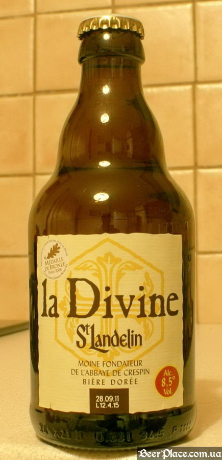 La Divine St. Landelin beer bottle