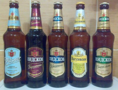 Пополнение ассортимента лидского пива
