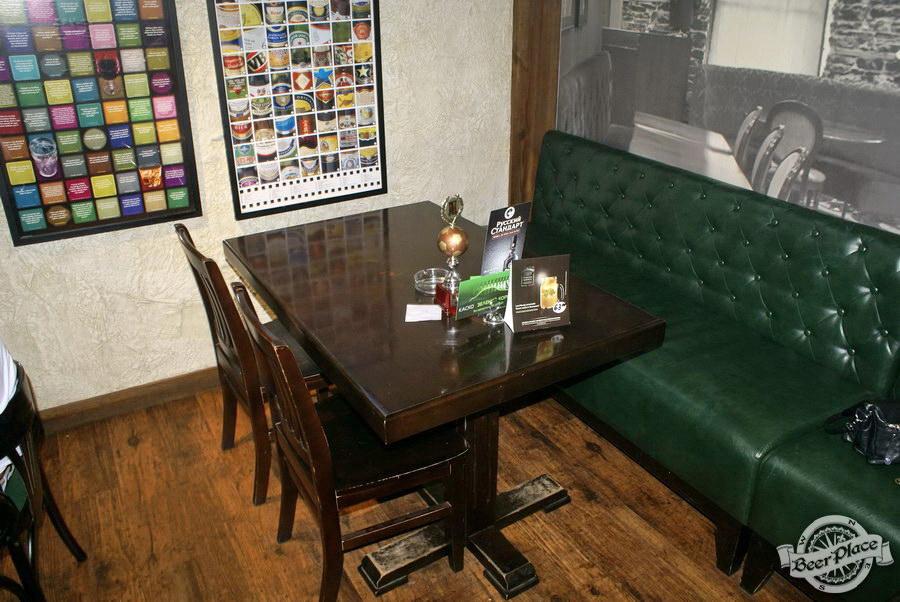Обзор Лаки Паб | Lucky Pub. Фото. Второй зал. Столы с левой стороны от входа